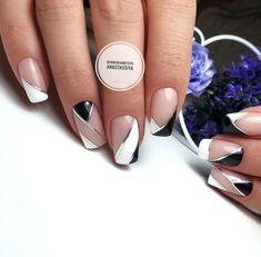 Nail Designs - Nail Art Ideas and Care Tips Sexy Nail Art, Cool Nail Art, Manicure Nail Designs, Acrylic Nail Designs, Shellac Nails, Acrylic Nails, Fun Nails, Pretty Nails, Art Deco Nails