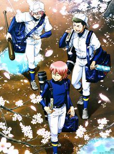 Diamond no Ace - Haruichi, Kuramochi & Ryosuke