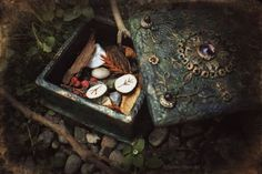 Magick toolbox with runes