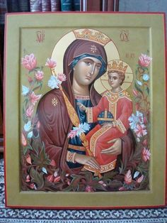 Religious Images, Religious Art, Byzantine Icons, Madonna And Child, Orthodox Icons, Mother Mary, Doa, Virgin Mary, Our Lady