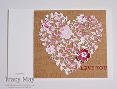 Bloomin' Love from Stampin' Up! Tracy May #GDP018