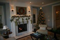 Atherton Holiday House Tour - traditional - living room - san francisco - sususu