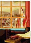 Saint Nicolas derrière la fenêtre