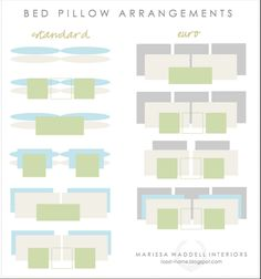 TOP TIPS FOR ARRANGING YOUR BED PILLOWS FOR FUNCTION + DECORATION - Hadley Court
