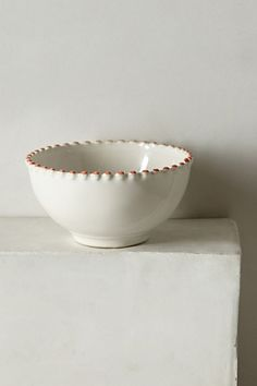 Pearl-Drop Bowl #anthropologie