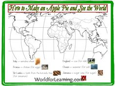 How to Make an Apple Pie and See the World -- great activities to go along with the book!