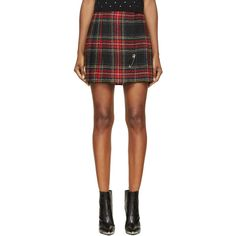 d086c82a382 Designer Clothes, Shoes & Bags for Women | SSENSE. Plaid Pleated Mini  SkirtPlaid ...