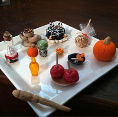 halloween miniature food