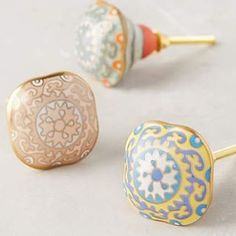 Anthropologie Knobs. #anthropologie