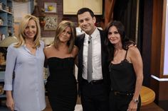 Pin for Later: We Never Thought We'd See the Ladies of Friends Back in Their Old Apartment