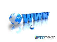 APLICACIONES MÓVILES ¿Qué quiere decir www? APP MAKER TE DICE. Son las iniciales en inglés de World Wide Web, el sistema de documentos de hipertexto enlazados entre sí y a los que se entra por medio de Internet. Por medio de un programa o software conocido como navegador como ejemplo internet explorer, safari, chrome, etc. Y en dónde los usuarios pueden visualizar diversos sitios web y navegar a través de ellos mediante  hipervínculos. www.appmaker.mx