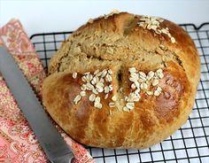 Honey Oat Quick Bread    by ButterwithaSideofBread #Oat #Honey #Bread