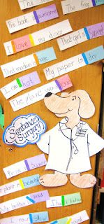 Sentence surgery - this is a great idea! Love how the kids dress up too