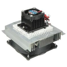 Thermoelectric Peltier Semiconductor Refrigeration System Cooler Fan  TEC1 12706
