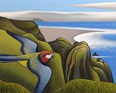 View Ahu Ahu Southward, Karekare Beach by Don Binney on artnet. Browse upcoming and past auction lots by Don Binney. New Zealand Art, Nz Art, Maori Art, European Paintings, Australian Art, Wildlife Art, Art Auction, Landscape Paintings, Beach Paintings