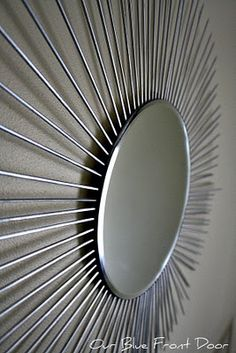 Wood skewers and a $3 mirror