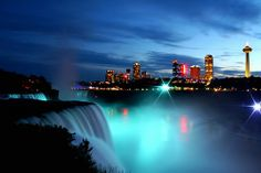 Niagra Falls, Canada (bc I live 45 mins away nd go every year to the Falls, sometimes we forget and take for granted how beautiful some places are, even though they're right under our nose!)