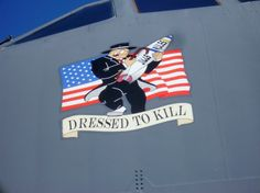 Nose art on a B-52 Stratofortress at Aviation Nation 2008