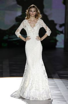If any of my brides would like to get married in this...I'll buy you a present. Ellie Saab