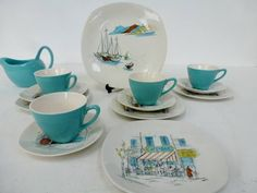 We Love…Midwinter Cannes ceramics by Hugh CassonKate Beavis Vintage Home » Kate Beavis Vintage Home