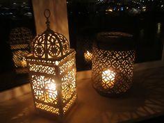 Vintage lanterns....so pretty