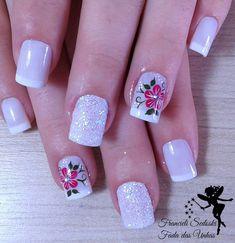 Francieli Sedoski (@fransedoski) • Fotos y vídeos de Instagram Pink Nail Art, Cute Acrylic Nails, Acrylic Nail Designs, Nail Art Designs, Hot Nails, Hair And Nails, Pretty Toe Nails, Elegant Nails, Perfect Nails