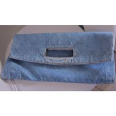 Chanel Top handle Blue Fabric A50363