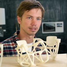 Dutch Profiles: Joris Laarman. Technology, craft, experiments. Known for his baroque radiator.
