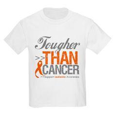 Tougher Than Cancer Kids Light T-Shirt