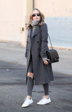 We love how Helena Hodne of Brooklyn is doing neutrals this fall.