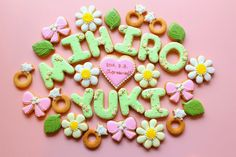 Sweeten your day.: welcome board icing cookies