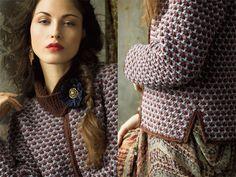Модели из коллекции Осень-Зима 2012/2013 Vogue Knitting : Вязание крючком и спицами