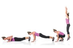 Cross-Training: Tabata-Style Workouts  -- Infuse your week with a very quick and intense workout.