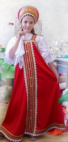 Русско-народный костюм (С-49), цена 5250 руб., купить в Новосибирске — Tiu.ru (ID#6358658)