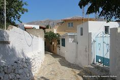 Telendos island facing Myrties on Kalymnos island in Greece. A quiet, laid back, friendly, welcoming kind of island. Greece Islands, Kos, Shed, Outdoor Structures, Aries, Barns, Sheds, Blackbird, Greek Islands