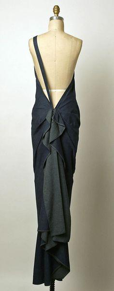 Dress  Giorgio di Sant'Angelo (American, born Italy, 1933–1989)  Date: 1985 Culture: American Medium: cotton