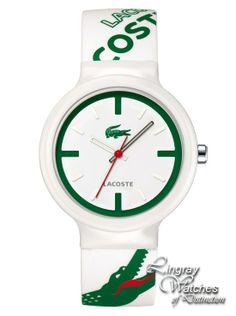 0eb6d8e822c Lacoste - Printed Silicone Green/White Croc Watch - 2010522 Online price:  £50.00