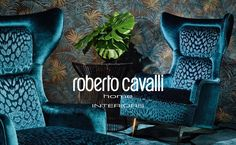 Roberto Cavalli Home Interiors' new collection explores the unexpected naturalistic suggestions and chromatic emotions. The collection scrutinises an Roberto Cavalli, Dyi, Décor Boho, Blue Rooms, Halloween, Home Interior Design, Custom Homes, Decoration, Luxury Homes