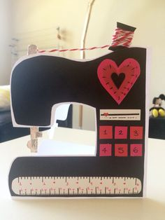 Homemade Sewing Card