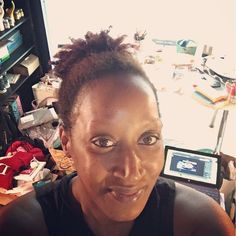 Operation Goddess Space has begun...wish me luck. I got @spotify going and rocking a puff and workout clothes. Here's to organization and a healthy happy creative space. I have to get new products in my @Etsy shop and get ready to launch new challenge for February. #thedreamdoer #moderngoddess