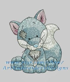 """Fox - machine embroidery designs set for a baby and children of series """"Old Toy"""""""