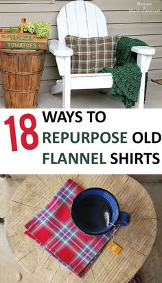 I cute way to keep memories! How to Repurpose Flannel Shirts, Shirt Projects, Easy Ways to Repurpose Old Shirts, What to Do With Old Shirts, Easy Sewing Projects, Simple Sewing Projects, Popular Pin, Easy Craft Projects. -