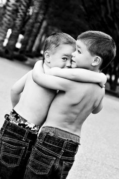 got your back..aww I need this photo of my boys