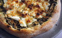 Recipe: Pesto Cheese Pizza | Greatist