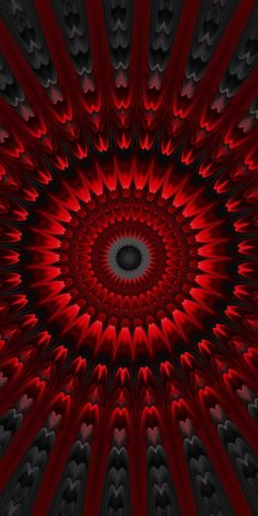 Mandalas Painting, Mandalas Drawing, Michael Johnson, Best Iphone Wallpapers, Wallpaper Iphone Disney, Fractal Art, Fractals, Red Colour Palette, Classroom Art Projects