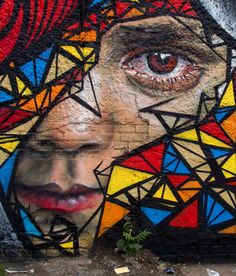 Artist: Matt Adnate - Pined by Virginie Delplanque