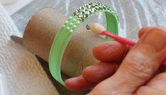 DIY Swarovski crystal bangle bracelet for ballroom dance (or, anytime, really).
