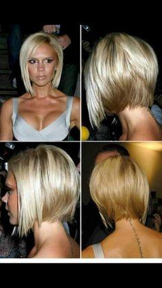 114 meilleures images du tableau Carré victoria Beckham | Hairstyle ideas, Victoria beckham ...