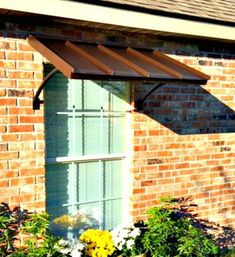 Beautiful Door and Window Awnings Metal Awnings For Windows, House Awnings, Window Awnings, House Windows, Front Entry Decor, Front Porch, Home Styles Exterior, Front Door Makeover, Village House Design