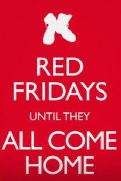 Red Fridays.